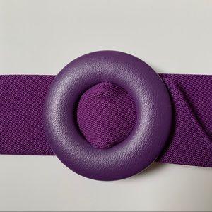 80's Elastic Belt with Buckle